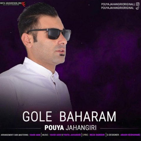 pouya jahangiri gole baharam - دانلود آهنگ پویا جهانگیری به نام گل بهارم